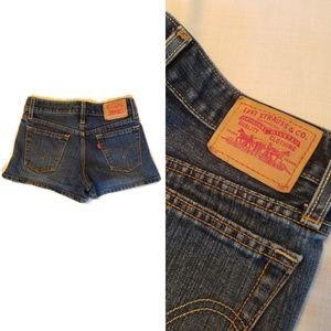 Levi's Jean Denim Shorts